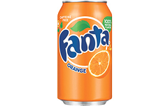 Foto Blikje Fanta Orange